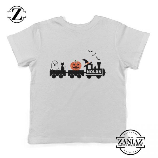 Buy Cheap Boys Halloween Shirt Train Tee Shirt
