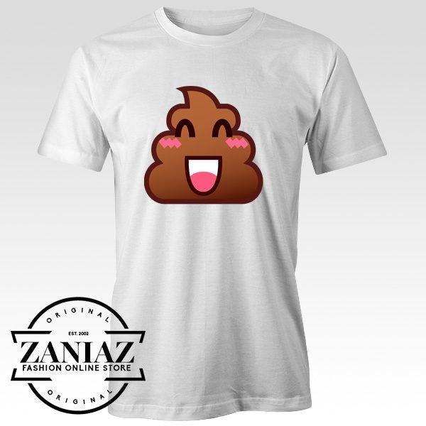Buy Cheap Funny T-shirt Poop Emoji Tee Shirt Adult