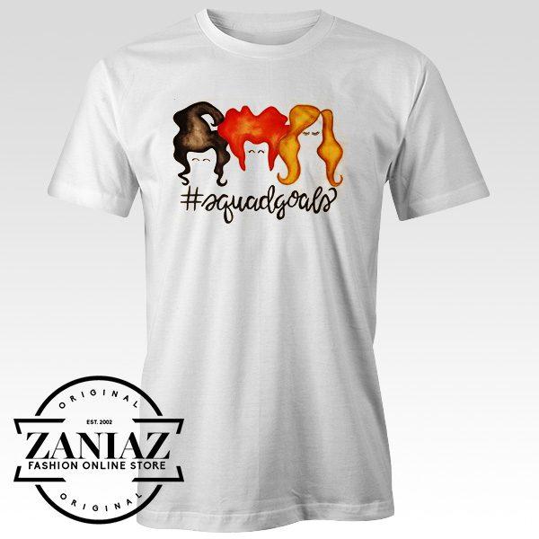 Buy Cheap Halloween shirt Squad Goals Shirt