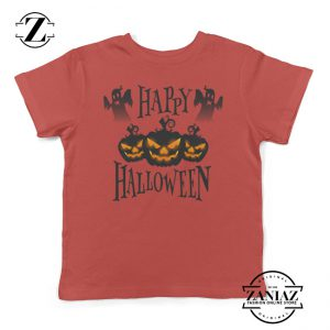 Buy Halloween Pumpkin Jack o' Lantern Kids Shirt