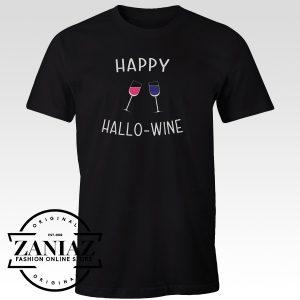 Cheap Clothes Happy Hallo Wine Shirt Unisex Tee