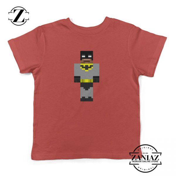 Cheap Kids Tee Shirt Minecraft Batman Mod Skin