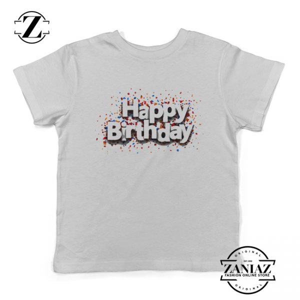 Cheap Shirt Happy Birthday Gift Clothes for Youth