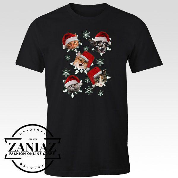Cheap Shirt The Christmas Cats Holiday Shirt Adult