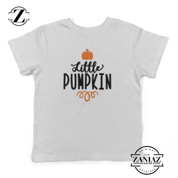 Cheap Youth Little Pumpkin Halloween Kids Shirt