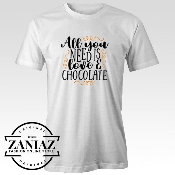 Chocolate Lover T-Shirt Chocolate Day Shirt Adult