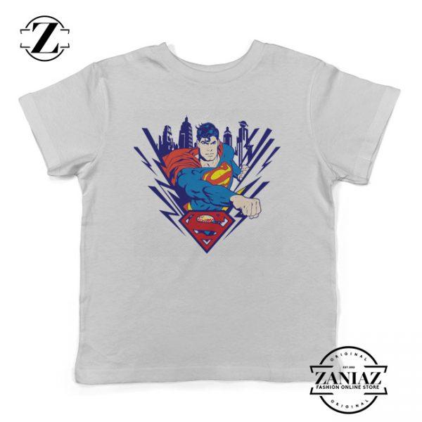 Clark Kent Cartoon Superman Gift Shirt for Kids