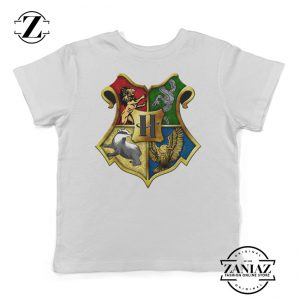 Crest Gryffindor Ravenclaw House Youth Tee Shirt