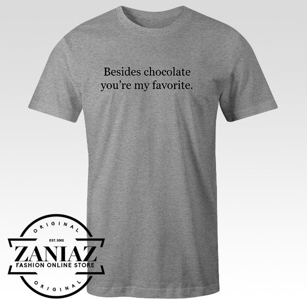 Funny Chocolate T-shirt for Men and Women Shirts