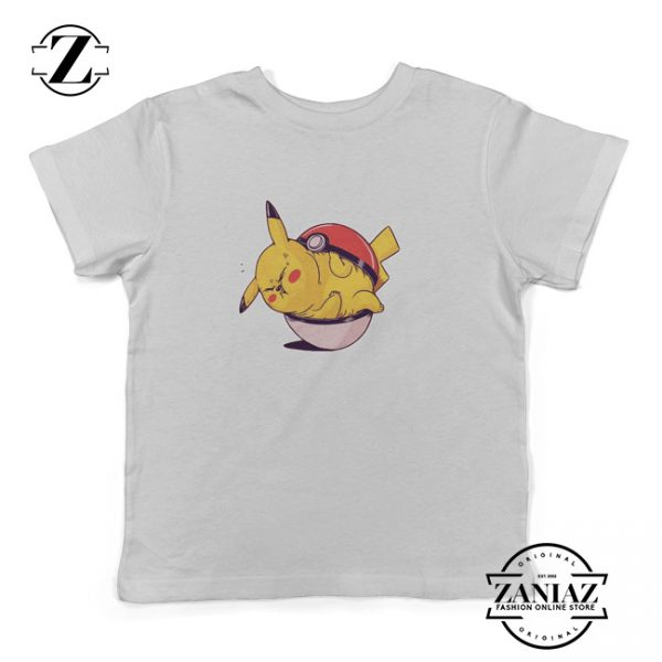 Gift Youth Obesity Pokemon Character Kids Shirt