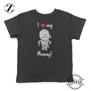 I Love My Mummy Kids Shirt Toddler Hallooween