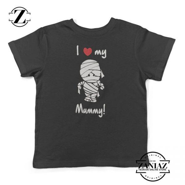 I Love My Mummy Kids Shirt Toddler Hallooween