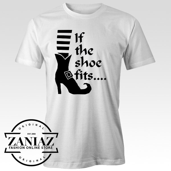 If The Shoe Fits Halloween T-Shirt Ladies T-shirt