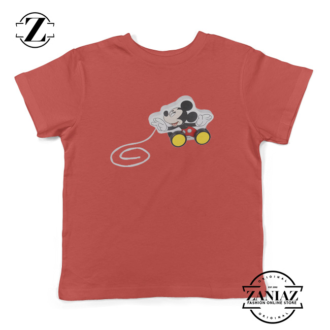 Kids Shirt Disney Character Mickey Mouse Youth Tee