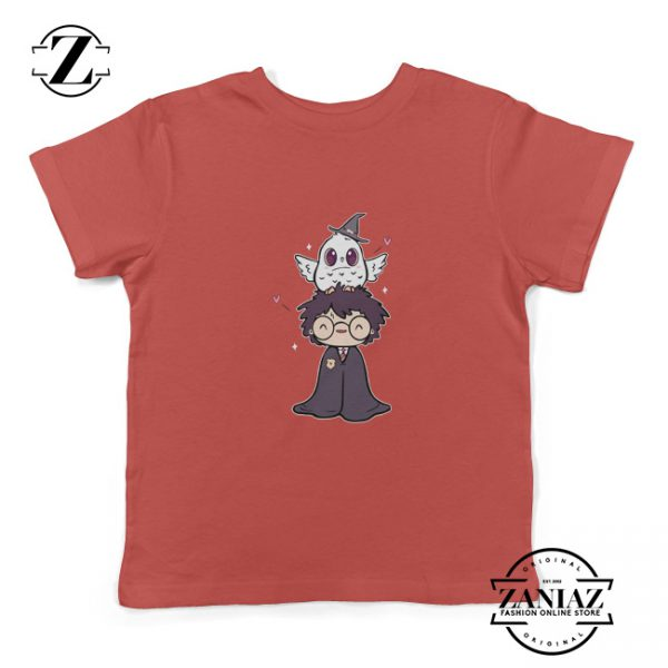 Kids Shirt Harry Potter and Phoenix Owl Youth Tee