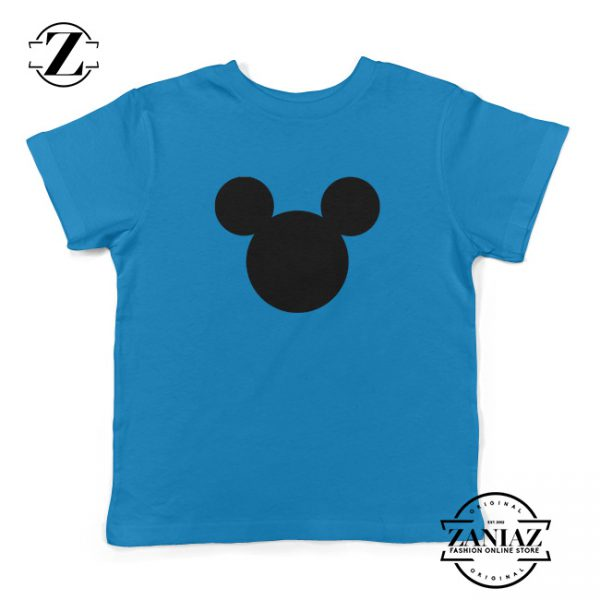 Kids Shirt Mickey Mouse Logo The Walt Disney Tee