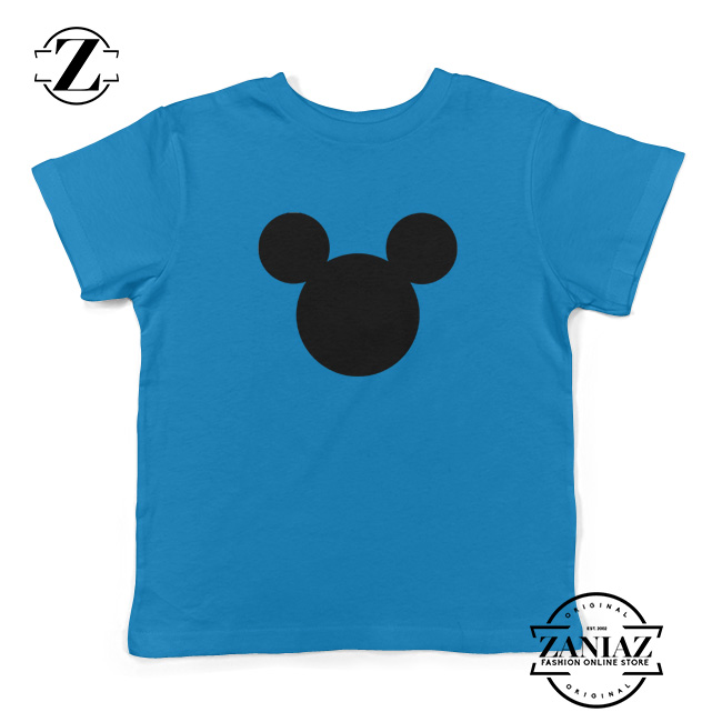 Kids Shirt Mickey Mouse Logo The Walt Disney Tee