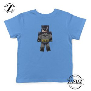 Kids Shirt Minecraft Batman Arkham City Youth Tee