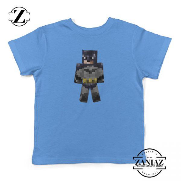 Kids Shirt Minecraft Batman Arkham City Youth Tee