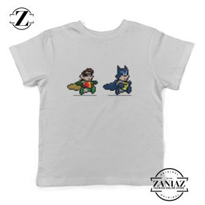 Kids Shirt Minecraft Batman Robin Hulk Superman