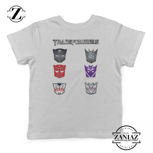 Kids Shirt Optimus Prime Bumblebee Transformers
