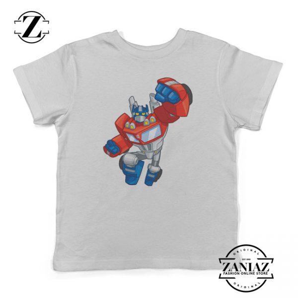 Kids Shirt Transformers Optimus Prime Gift Shirt