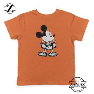 Mickey Kids Shirt Disney Halloween Youth Shirt