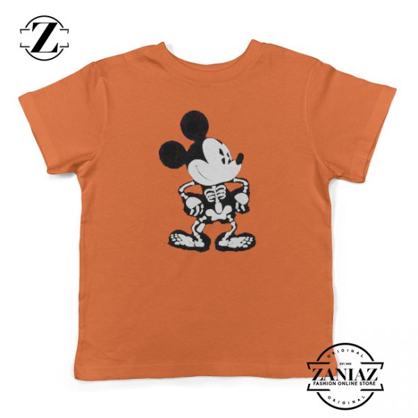 Mickey Kids Shirt Disney Halloween Youth Shirt