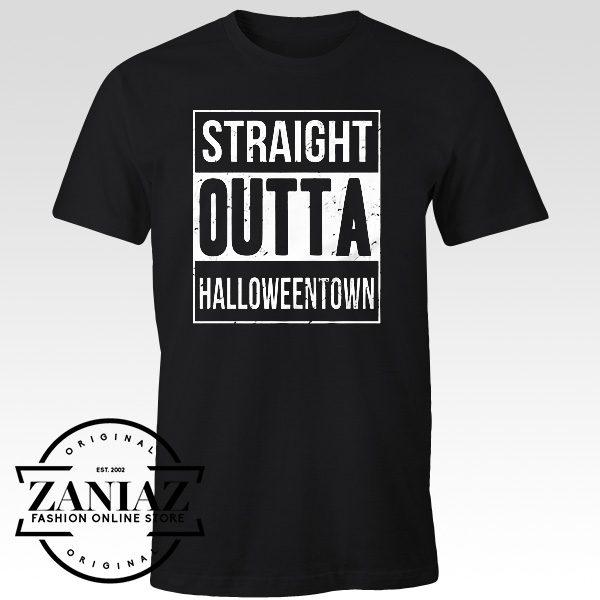 Straight Outta Halloweentown Gift Shirt Adult