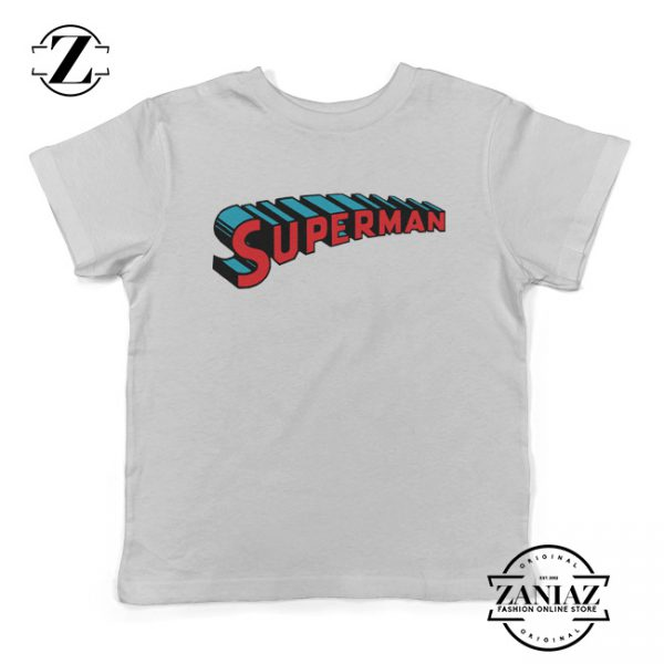 Superman Gift Kids Shirt Superman Logo Youth Tee