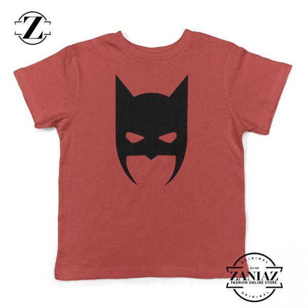 Toddler Shirt Batman Mask Superhero Kids Tshirt