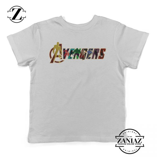 Buy Cheap Avengers Logo Kids Shirt Birthday Tees