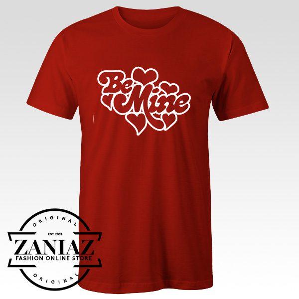 Buy Cheap Be Mine Hearts Womens T-shirt