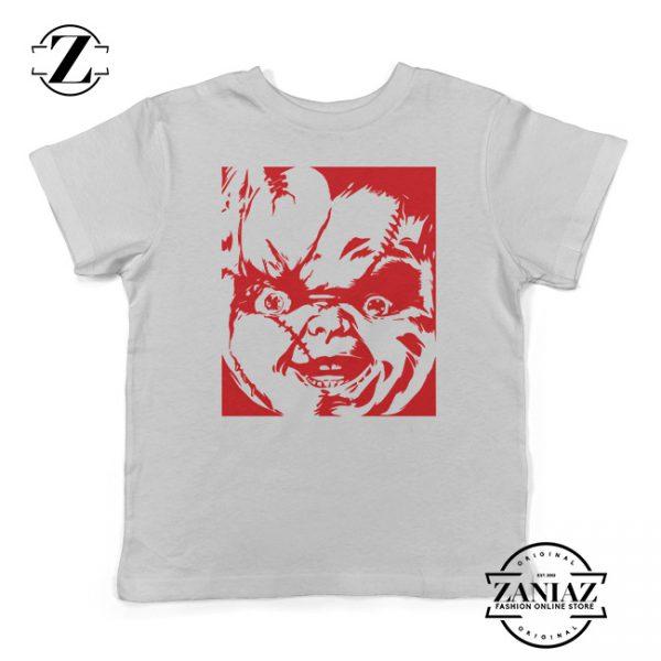 Buy Cheap Halloween Kids T-Shirt Chucky Gift Tee