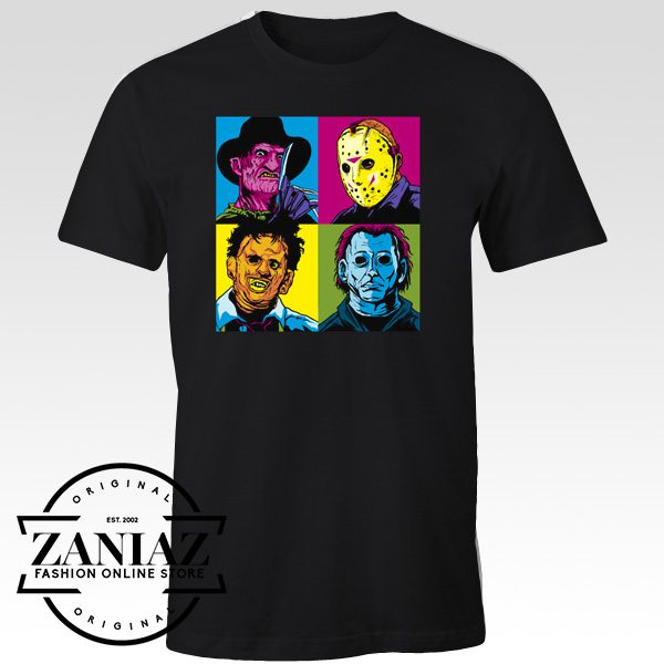 Buy Cheap Halloween Tee Shirt Pop Horror T-Shirt
