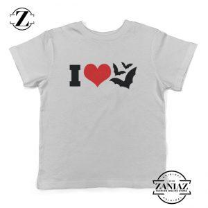 Buy Cheap I Heart Bats Kids T-Shirt Kids Halloween