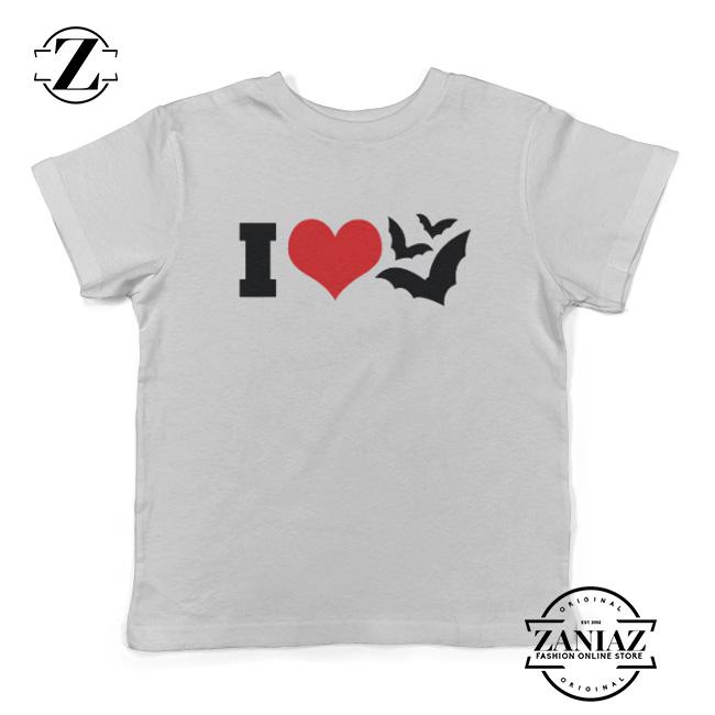 95d54d8ed Buy Cheap I Heart Bats Kids T-Shirt Kids Halloween - Cheap Kids Clothes