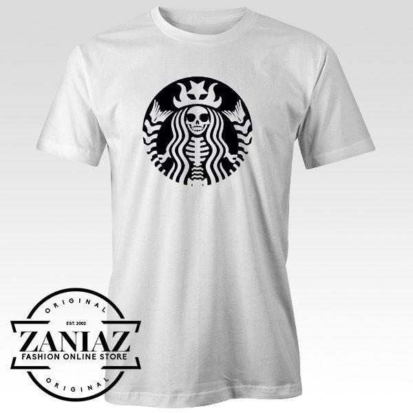 Buy Cheap Shirt Starbucks Halloween Tshirt Adult