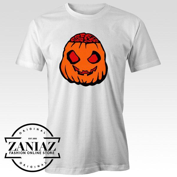 Buy Cheap Zombie Pumpkin Halloween Tee Shirt