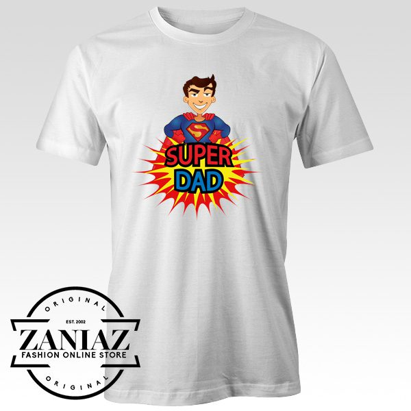 c8a3f4d8 Buy Father's Day Gift Shirt Super Dad Gift Tee Shirt - Cheap Kids ...