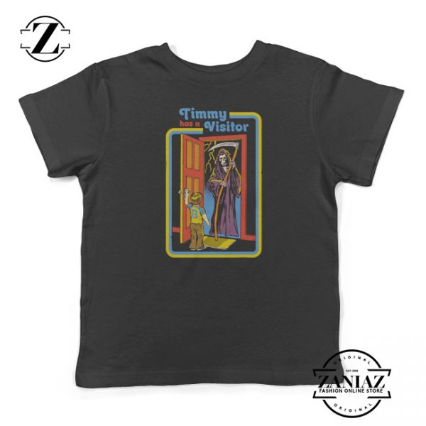 Buy Halloween Kids T-Shirt Timmy has a Visitor