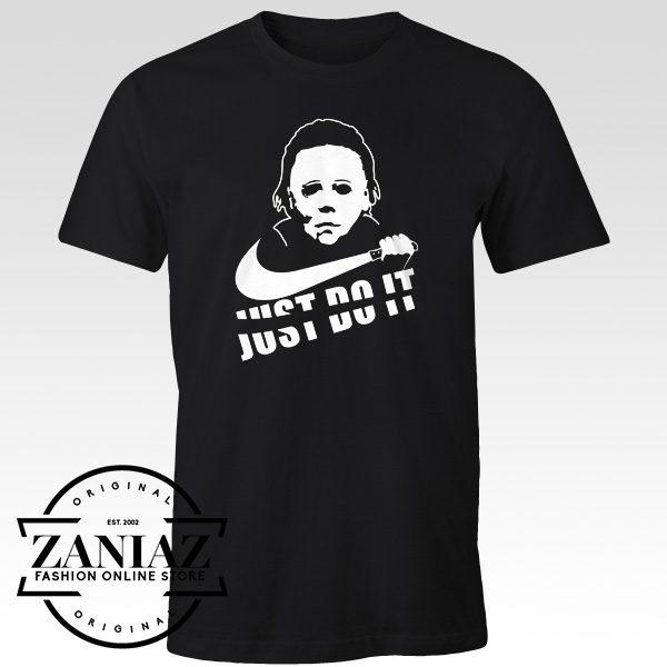 Buy Horror T-shirt Just Do It Halloween Tee Shirt