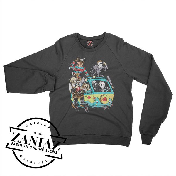 Buy Sweatshirt Halloween The Massacre Machine Crewneck Size S-3XL