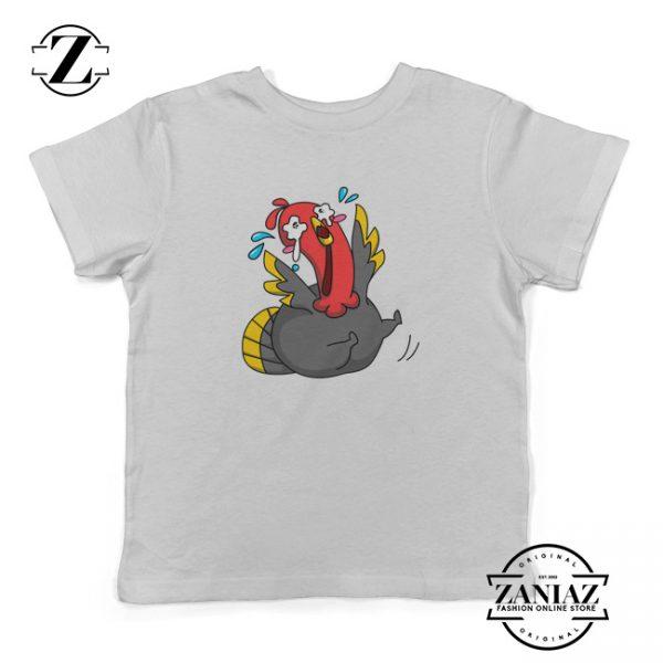 Buy Thanksgiving Cry Roll Turkey Cartoon Kids Shirt