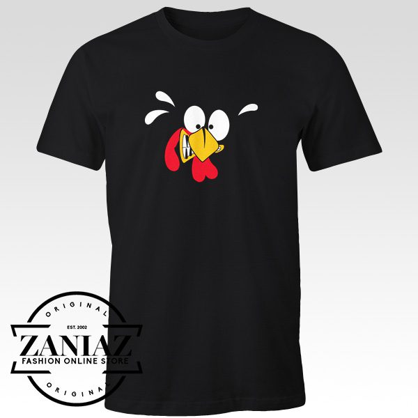 Buy Turkey Face T-Shirt Thanksgiving Day Tee Gift