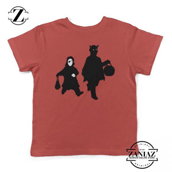 Cheap Halloween Shadows Kids Shirt Gift Shirt