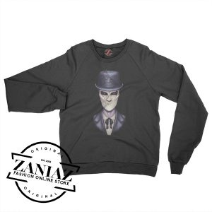 Cheap Halloween Slender Man Sweatshirt Crewneck Size S-3XL