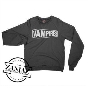 Cheap Halloween Vampires Monster Sweatshirt Crewneck Size S-3XL