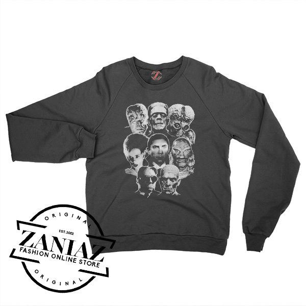 Cheap Universal Monsters Crewneck Sweatshirt