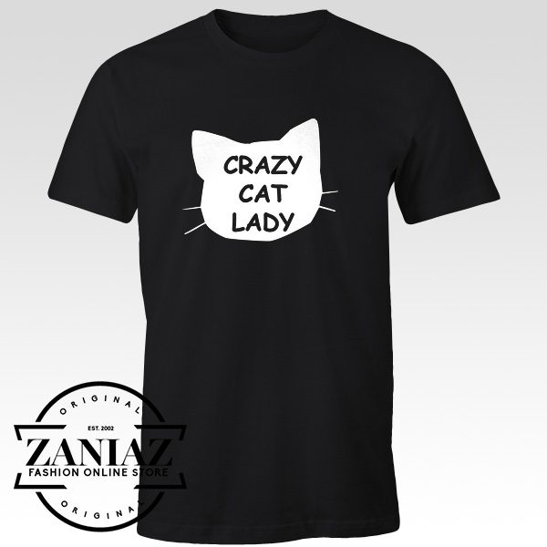 Crazy Cat Lady Funny T-Shirt Cat Lover Tee Shirt